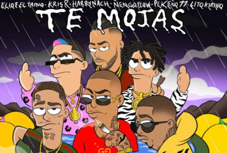 "Eliot El Taino teams up with international artists to drop new impressive single ""Te Mojas"""