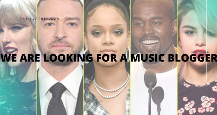We are looking for a Music blogger!